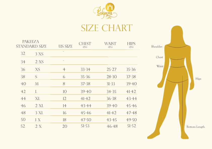 Size Chart Currently Unavailable